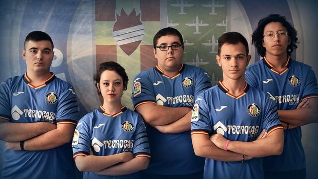 El Getafe presenta su nuevo equipo de Rocket League