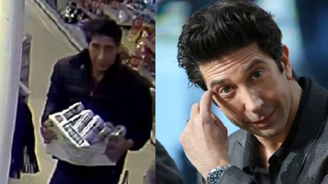 La policía busca al doble de David Schwimmer, Ross en Friends