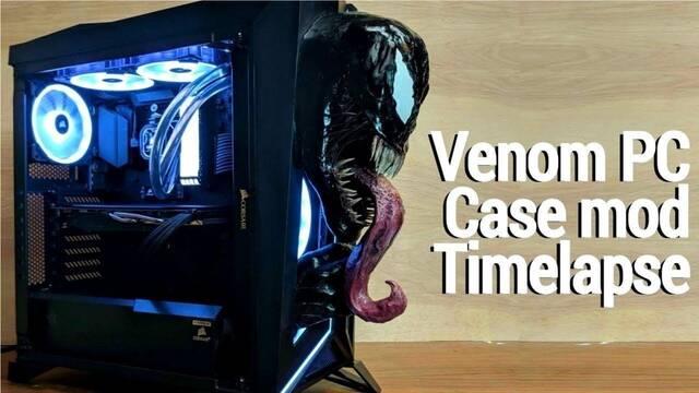 El PC modding de los viernes: Venom llega a tu ordenador