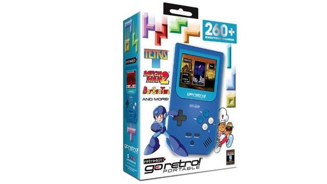 GoRetro!, la portátil retro estilo GameBoy con 260 juegos con licencia oficiales