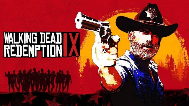 'The Walking Dead' parodia a 'Red Dead Redemption 2'