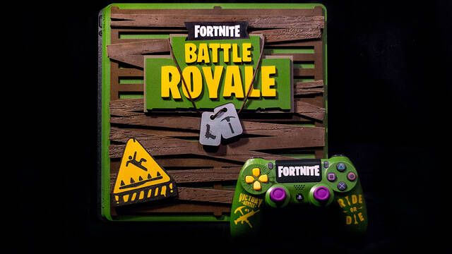 Llega la PS4 de Fortnite Battle Royale