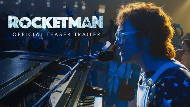 Así es el primer teaser de 'Rocketman', protagonizada por Taron Edgerton