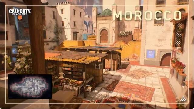Call of Duty: Black Ops 4 nos muestra un nuevo mapa, Morocco