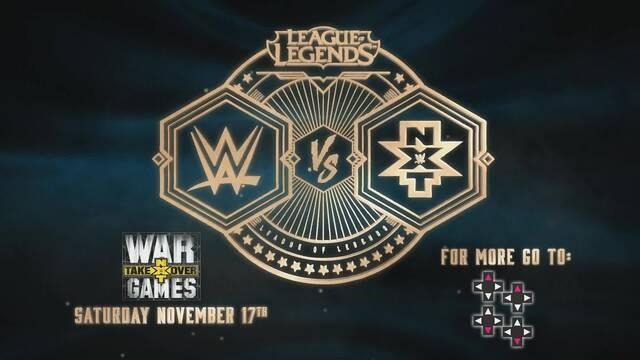 WWE apuesta por League of Legends con un partido de exhibición