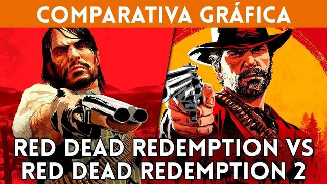 Comparativa gráfica: Red Dead Redemption VS. Red Dead Redemption 2
