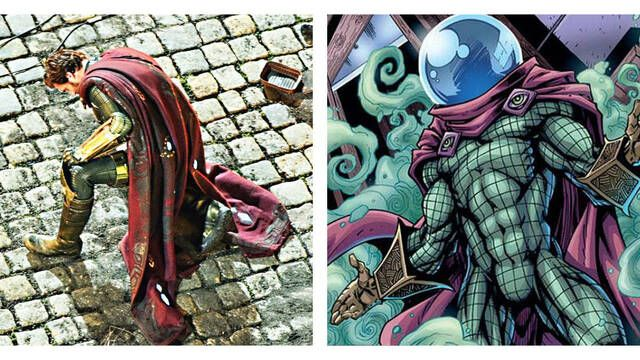 'Spider-Man: Lejos de casa': Llega una imagen más detallada de Mysterio