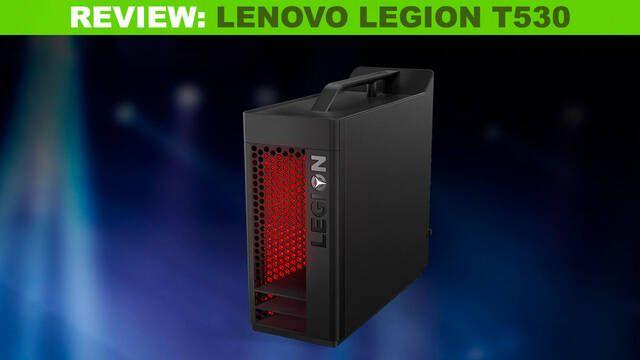 Legion T530: Una torre destinada a Fortnite, CS:GO o League of Legends