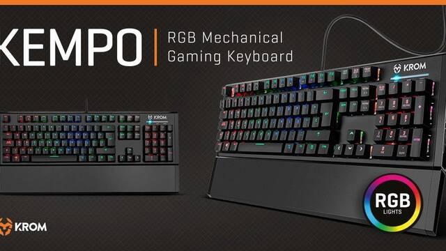 Krom lanza Kempo, su nuevo teclado mecánico RGB