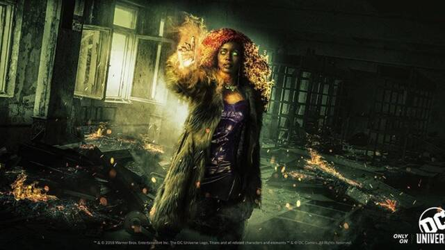 Starfire tendrá el aspecto clásico de DC Comics en 'Titans'
