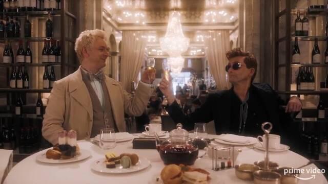 David Tennant y Michael Sheen protagonizan el tráiler de 'Buenos Presagios'