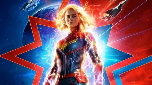 Capitana Marvel quiere un crossover con todas las superheroínas de Marvel
