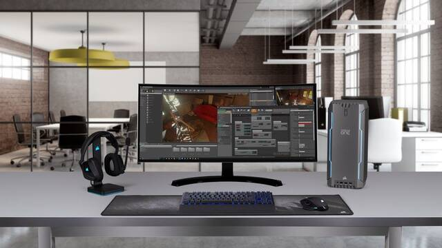 Corsair presenta nuevos modelos de sus PC gaming Corsari One y One Pro