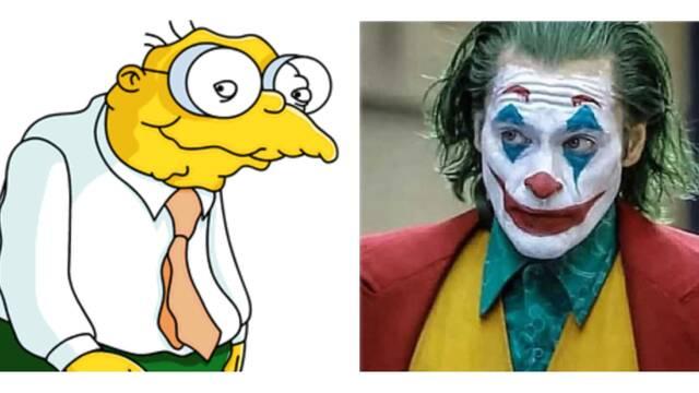 ¿Y si Joker hubiera sido Hans Topo de Los Simpson? Twitter responde