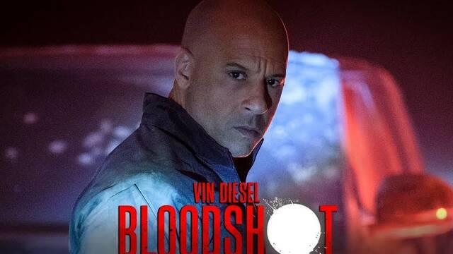 Vin Diesel se luce en el primer tráiler de Bloodshot, la adaptación al cine del cómic