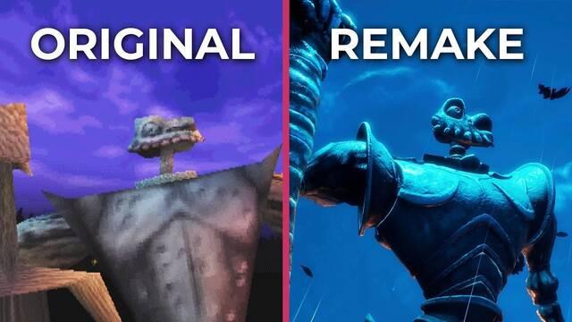 Comparan el Medievil original de PSX con su remake para PS4