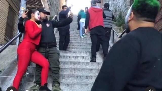 Joker: Las famosas escaleras de la película son víctima del postureo de Instagram