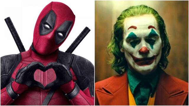 Ryan Reynolds (Deadpool) felicita cómicamente a Joker por su éxito de taquilla