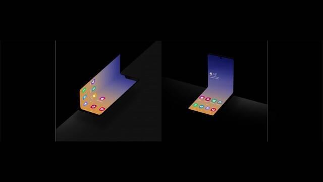 Samsung presenta el diseño conceptual de su nuevo teléfono plegable ¿Fold 2?