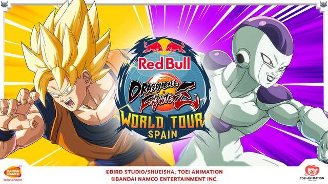 Red Bull Dragon Ball FighterZ Spain SAGA agota inscripciones y tendrá a Sonic Fox