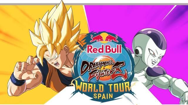 Red Bull Dragon Ball FighterZ Saga llega a Madrid