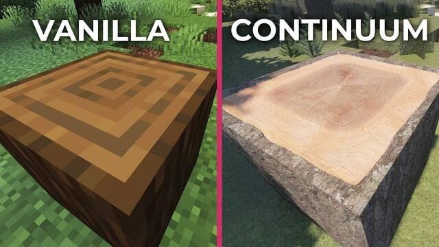 Comparativa: Minecraft VS. Minecraft con sus mods ultrarrealistas