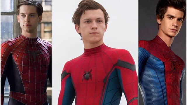 Andrew Garfield y Tobey Maguire podrían estar con Tom Holland en Spider-Man