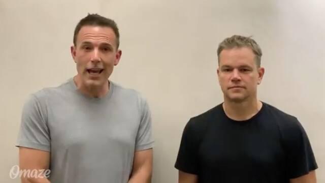 Ben Affleck es 'troleado' en directo por Matt Damon