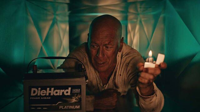 Bruce Willis es John McClane en un divertido y épico anuncio de baterías