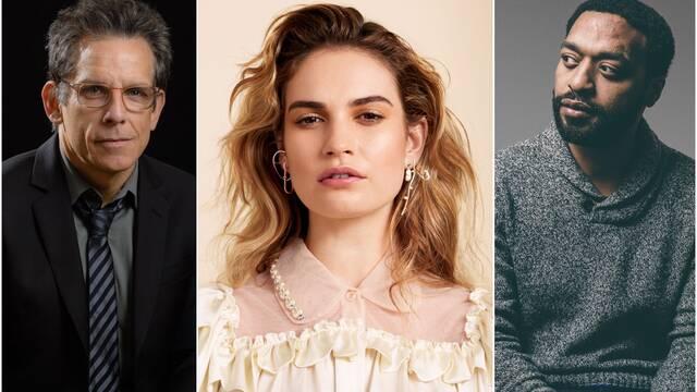 El atraco de Lockdown ficha a Chiwetel Ejiofor, Ben Stiller y Lily James