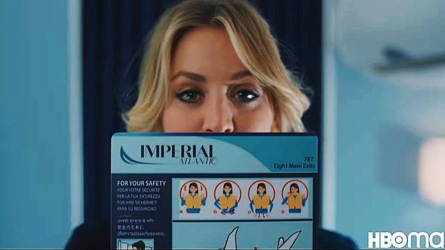 Tráiler de The Flight Attendant, lo nuevo de Kaley Cuoco para HBO Max