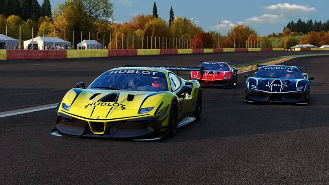 Ferrari Hublot Esports Series llega a la cuenta atrás para sus finales en noviembre