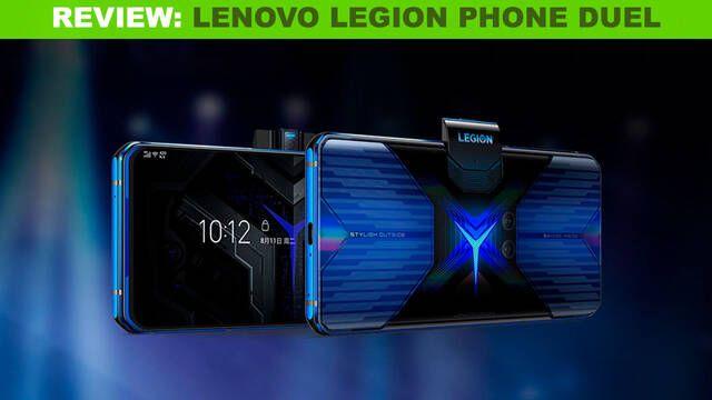 Lenovo Legion Phone Duel, un móvil hecho y pensado para jugar
