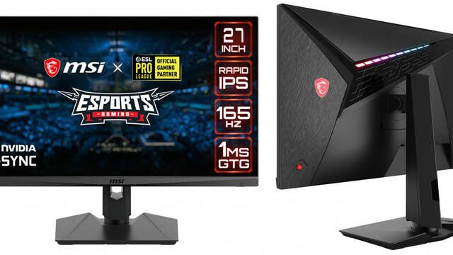 "MSI presenta su nuevo monitor MAG274QRF-QD: 27"", 2K y 165 Hz"