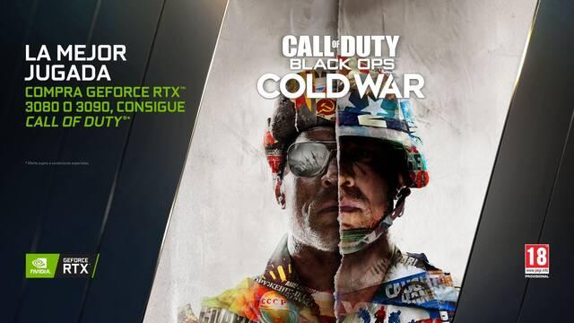 Si compras una RTX 3080 o 3090 te llevas Call of Duty: Black Ops Cold War