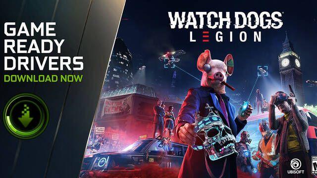 NVIDIA publica los nuevos drivers Game Ready para Watch Dogs: Legion
