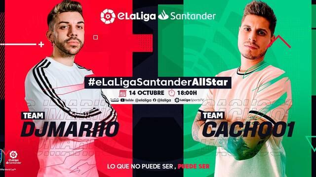 LaLiga presenta #eLaLigaSantanderAllStar, la primera parada de la temporada de FIFA 21