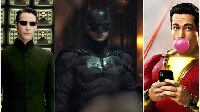 Nuevos retrasos para The Batman, Matrix 4, Shazam 2 y más