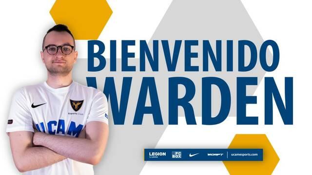 UCAM Esports Club presenta a su nuevo jugador: Lukas 'Warden'