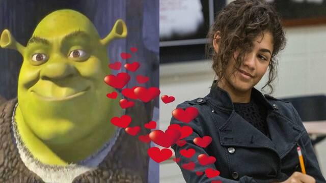 Zendaya, la nueva Mary Jane de Spider-Man, proclama su amor por Shrek