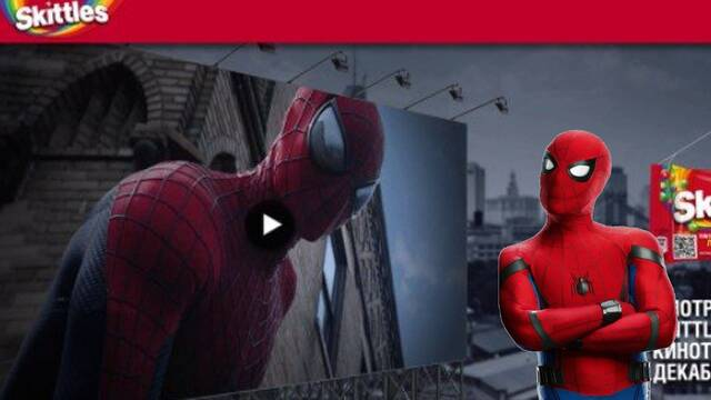 El Spider-Man de Andrew Garfield aparece escondido en una promoción de No Way Home