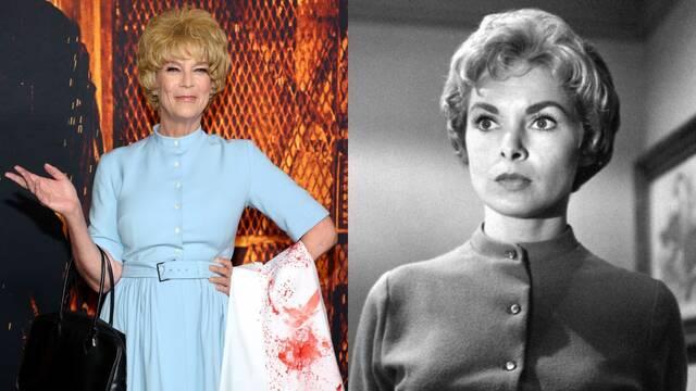 Jamie Lee Curtis rinde homenaje a Marion Crane en la premiere de Halloween Kills