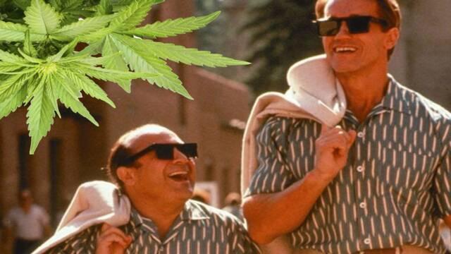 Schwarzenegger le devuelve a DeVito una broma con la marihuana 30 años después