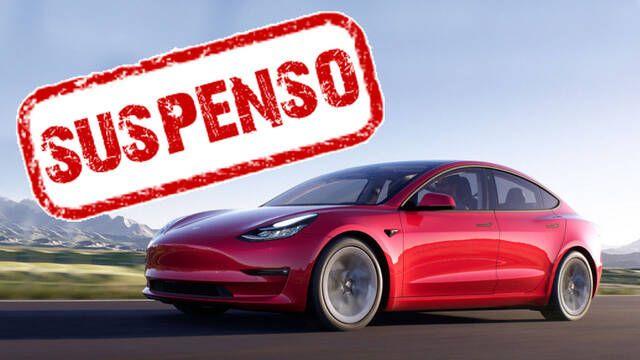 El Tesla Model 3 suspende el test de calidad de una detalladora profesional