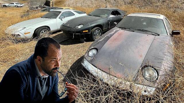 Descubren un cementerio de Porsche mientras buscaban localizaciones para Westworld