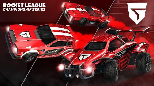 Vodafone Giants presenta su nueva imagen para las competiciones de Rocket League