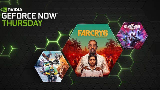 GeForce Now tendrá 23 juegos en octubre y esta semana estrena Far Cry 6