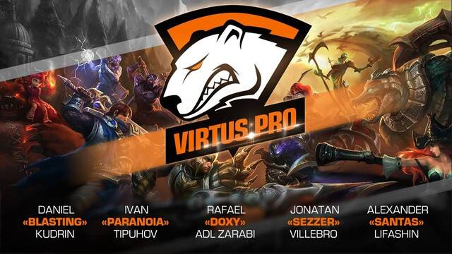 Virtus.pro anuncia su regreso a League of Legends
