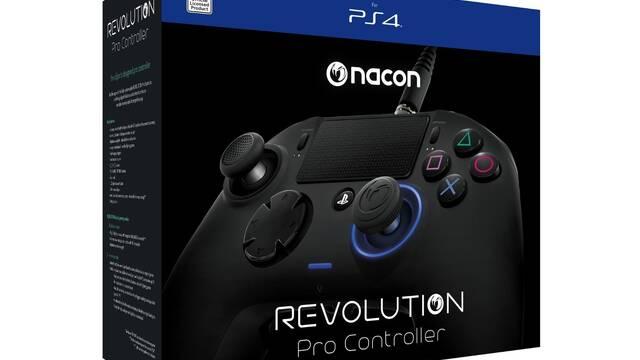 Nacon nos da nuevas características de Revolution Pro Controller, su mando para PS4