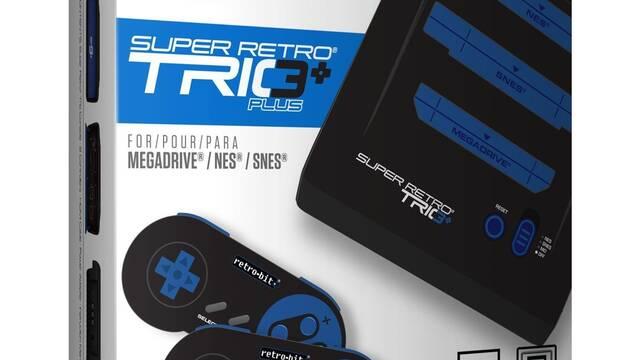 Retro-Bit anuncia su consola retro para jugadores de NES, SNES y Mega Drive